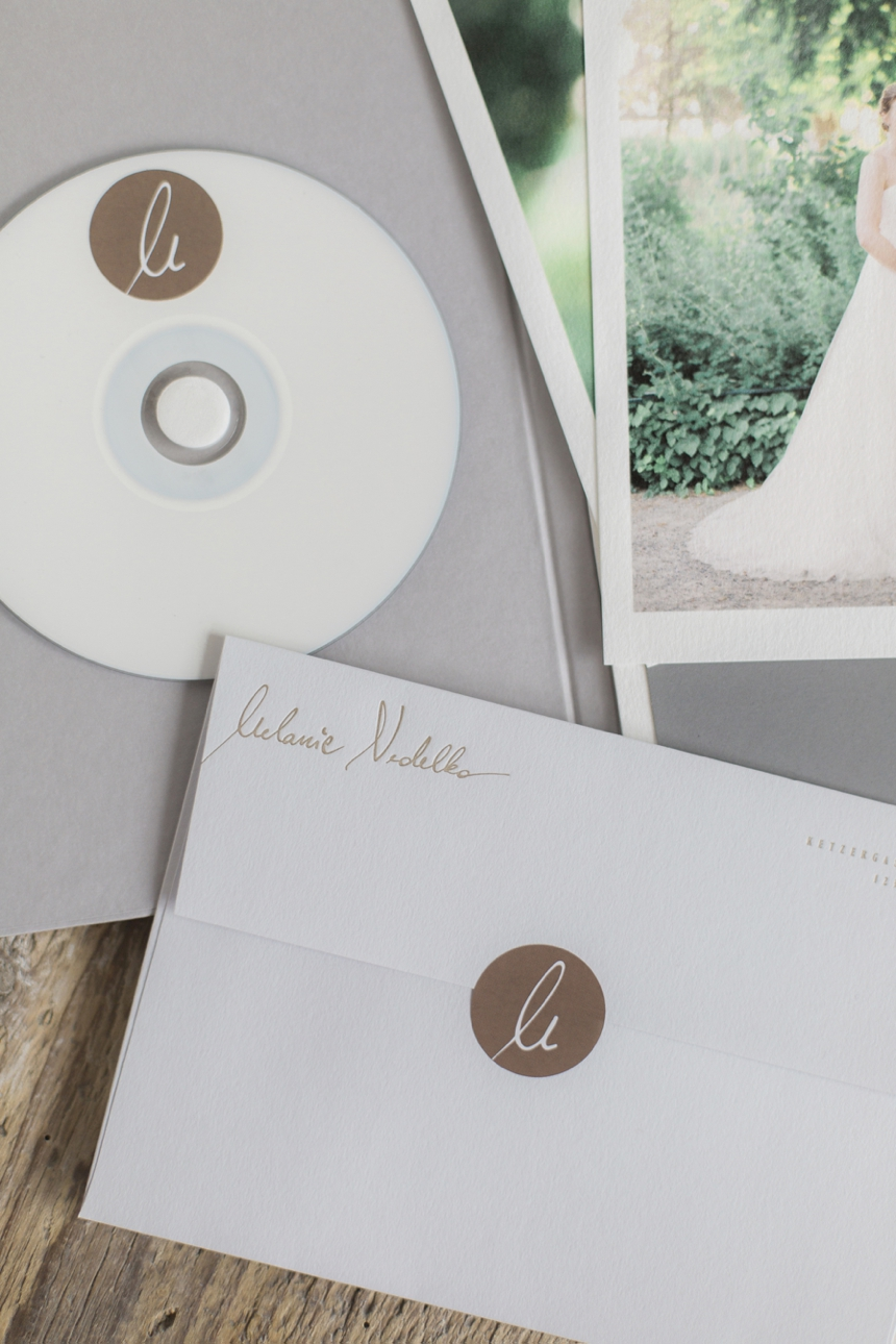 wedding client packaging  melanie nedelko letterpress herz&co