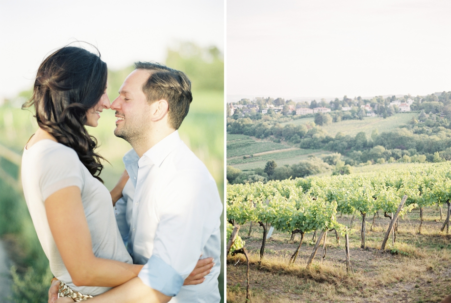 Evi & Flo - vineyard engagement shoot in Vienna, Melanie Nedelko Photography