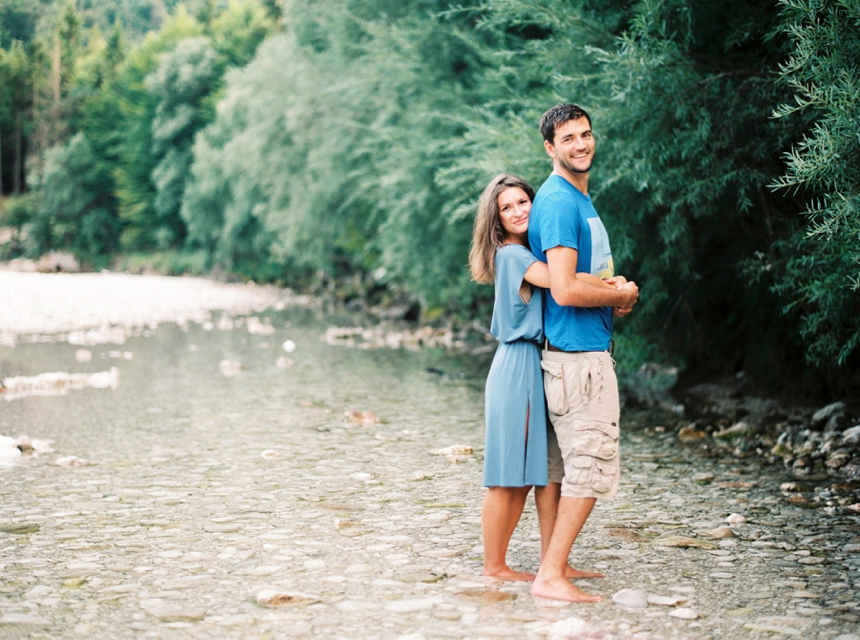engagement session at lake Attersee by Melanie Nedelko