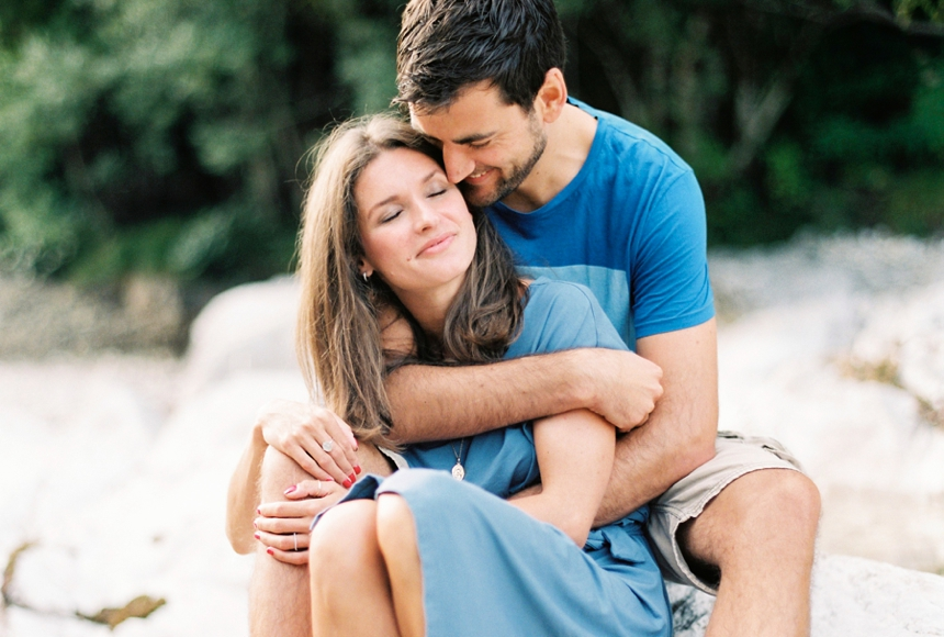 Melanie Nedelko - fine art photographer - engagement session at lake Attersee