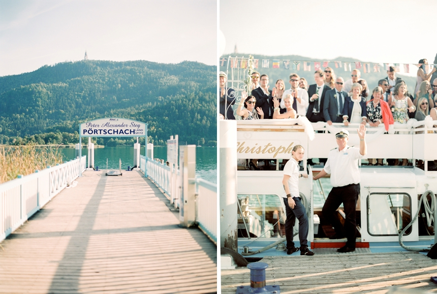 lakeside wedding Carinthia at lake Wört by Melanie Nedelko - wedding photographer Austria , Vienna