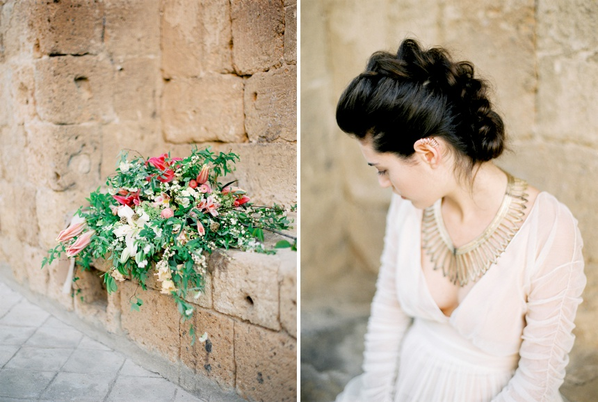 Italian wedding inspiration at La badia di Orvieto by Melanie Nedelko - fine art wedding photographer