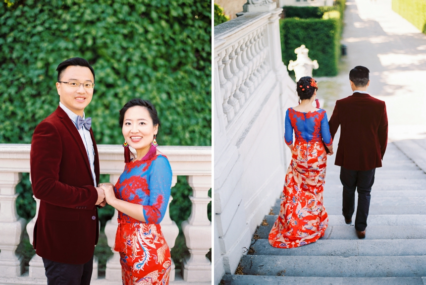 destination engagement Vienna , Asian couple Pre wedding photoshoot , Vienna proposal , Vienna engagement photographer