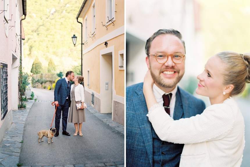 traditional garden wedding wachau by wedding photographer Melanie Nedelko