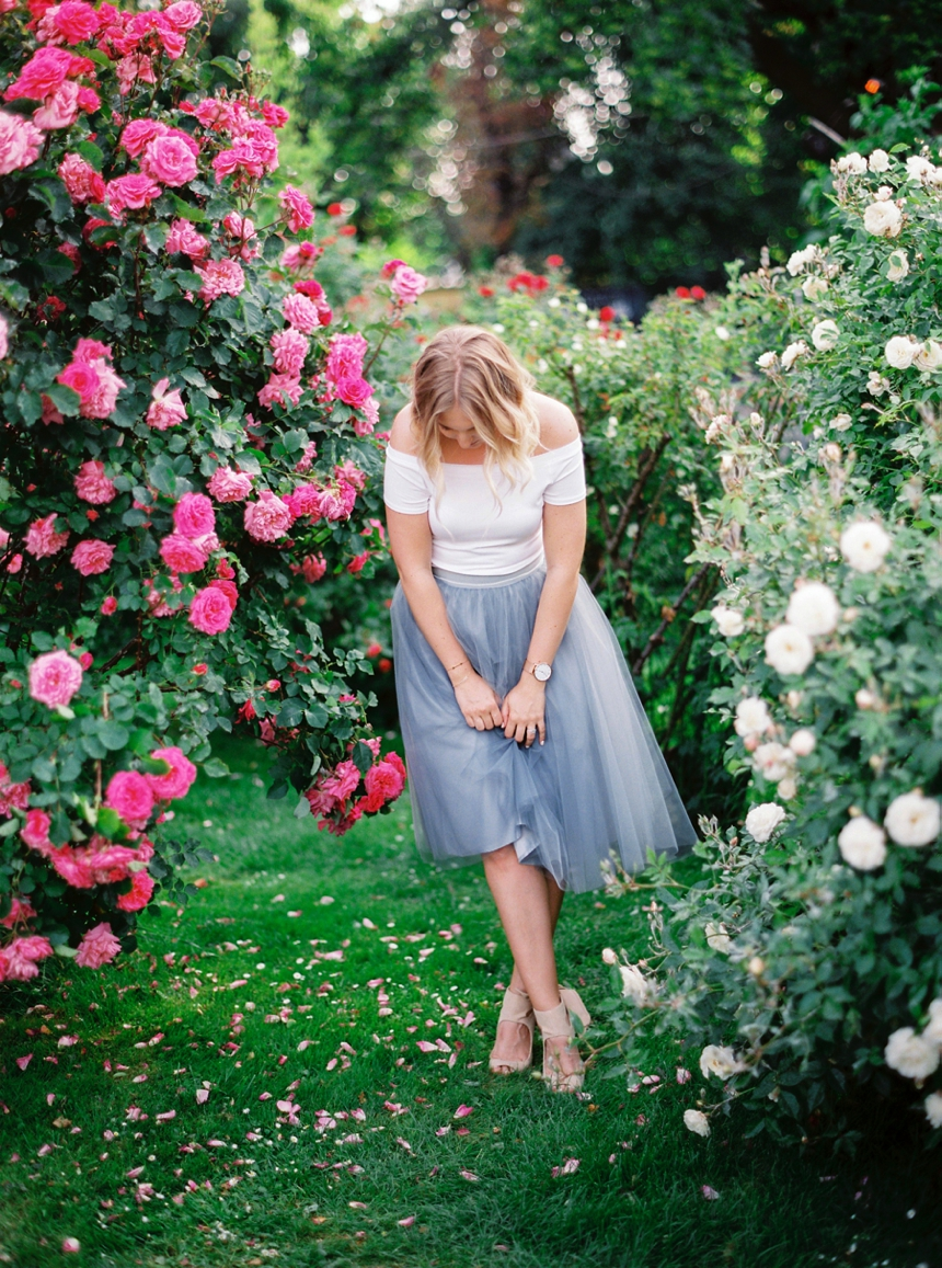 Alexandra Grecco tulle skirt , Summer engagement session Vienna