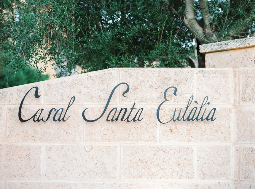 elegant finca wedding in Mallorca at Casal Santa Eulalia