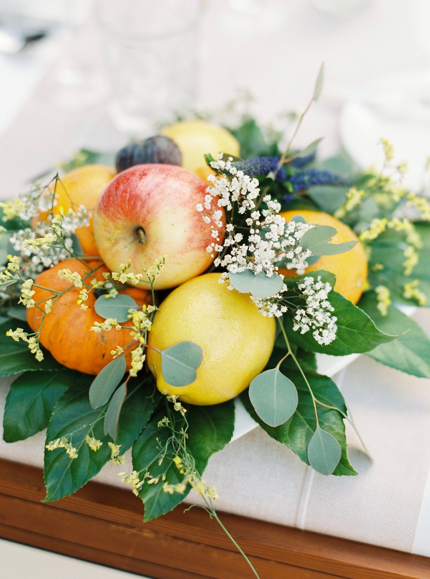 mediterranean centerpiece wedding Mallorca