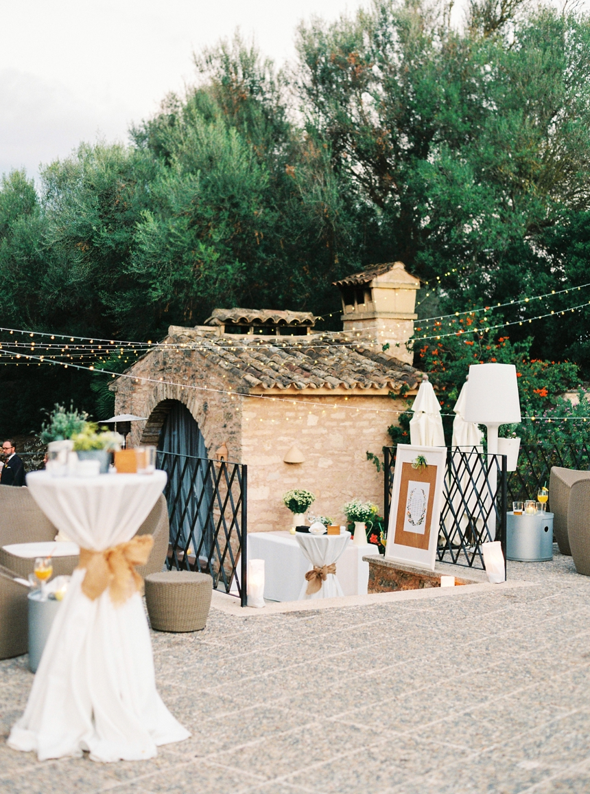 elegant finca wedding in Mallorca