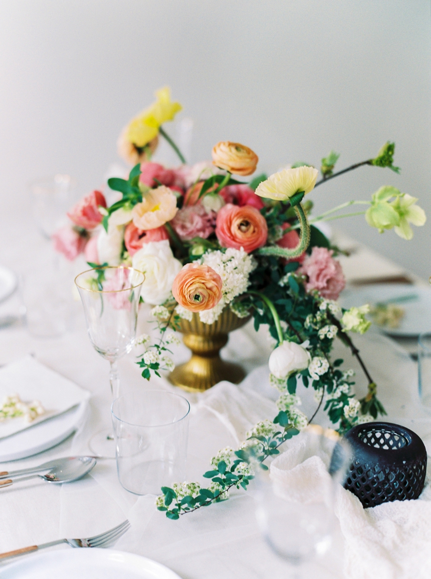 soft, tender & feminine spring wedding inspiration
