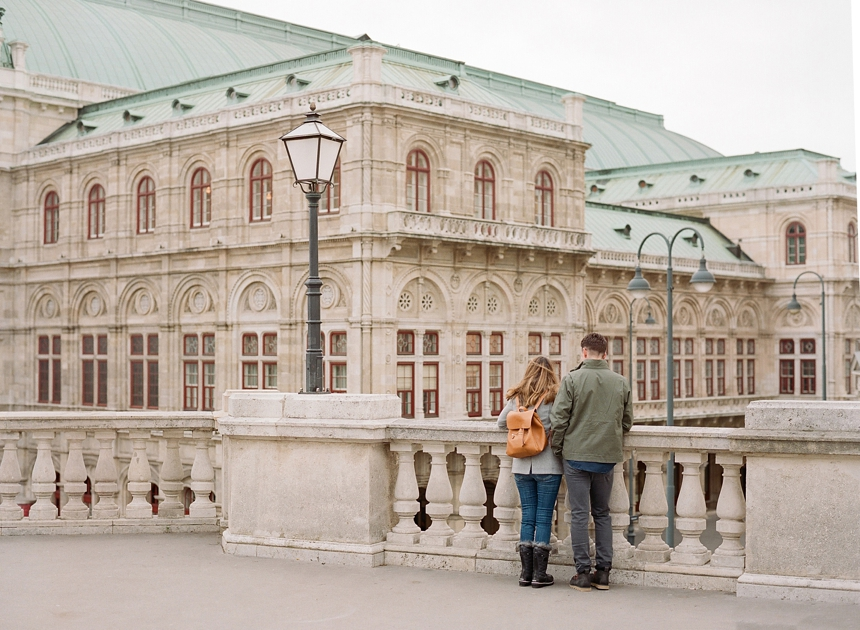 Surprise Proposal Vienna City Trip How He Proposed Engagement Ring
