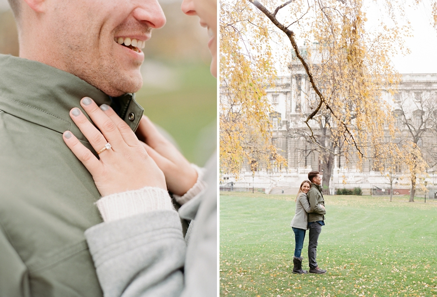 vienna citytrip engagement photo shoot by melanie nedelko wedding photographer