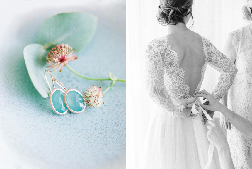 Daalarna Couture wedding gown , getting ready photographed by Melanie Nedelko fine art wedding photographer