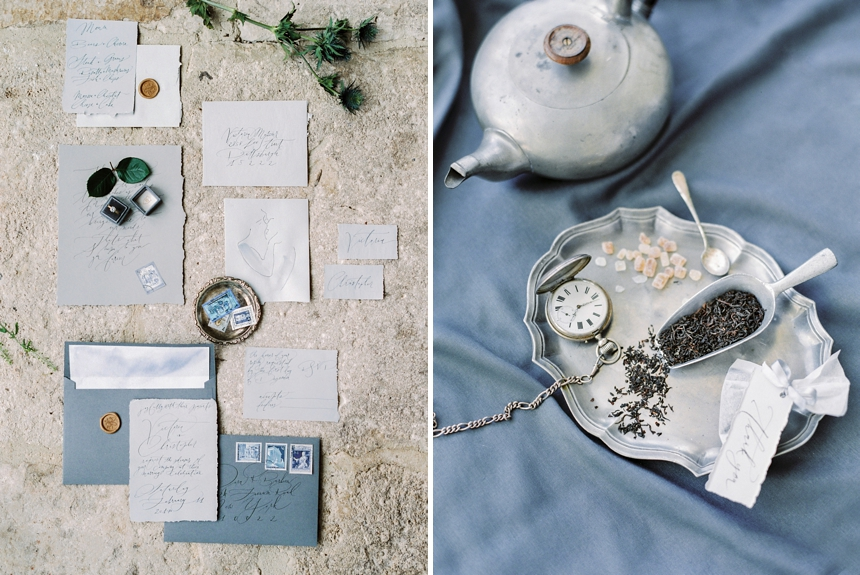 timeless & elegant winter wedding inspiration- wedding suite - wedding stationery