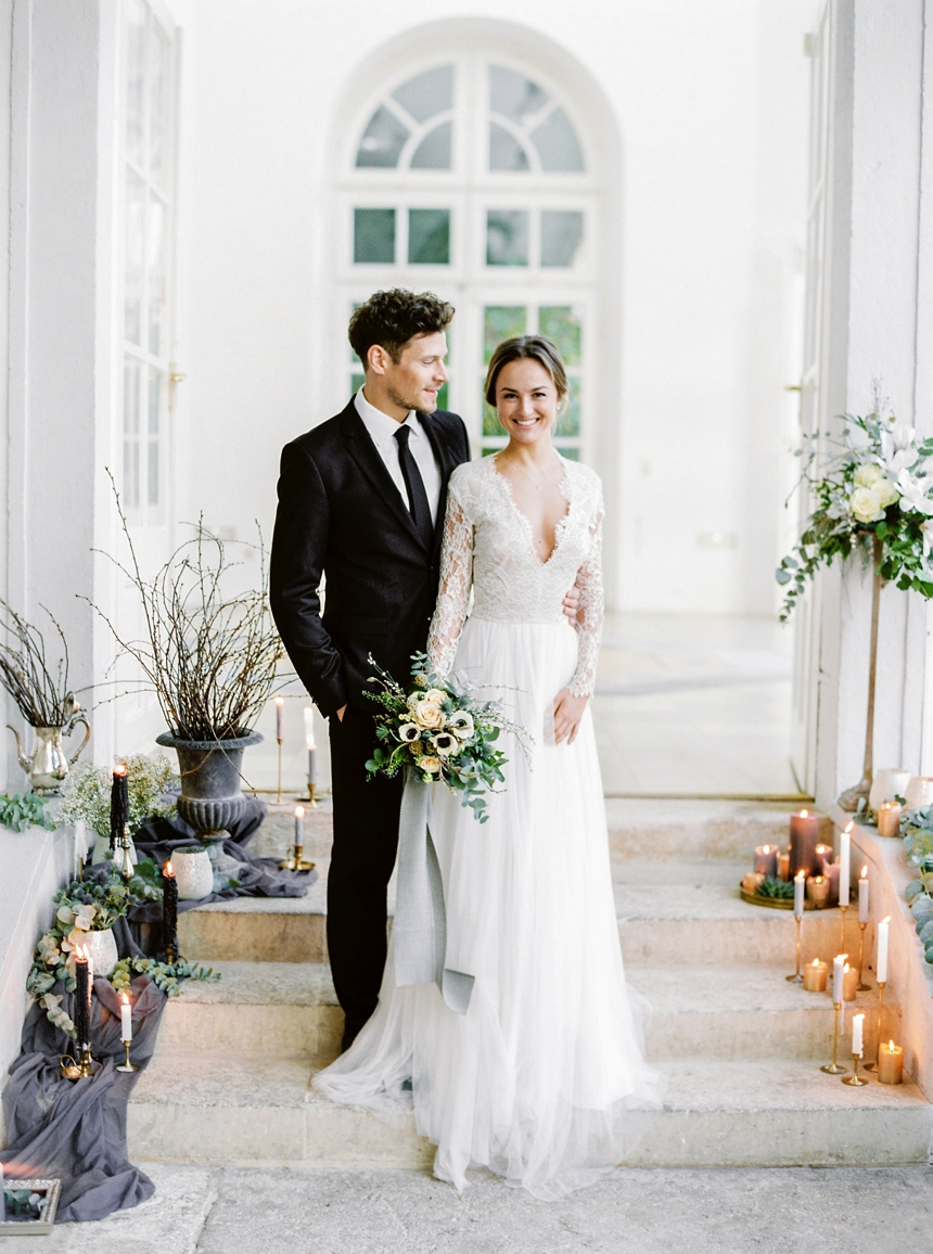 elegant & timeless winter wedding inspiration