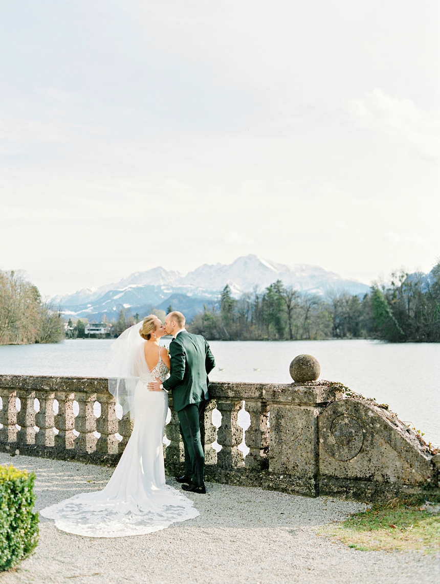 the sound of music destination wedding leopoldskron castle © melanie nedelko