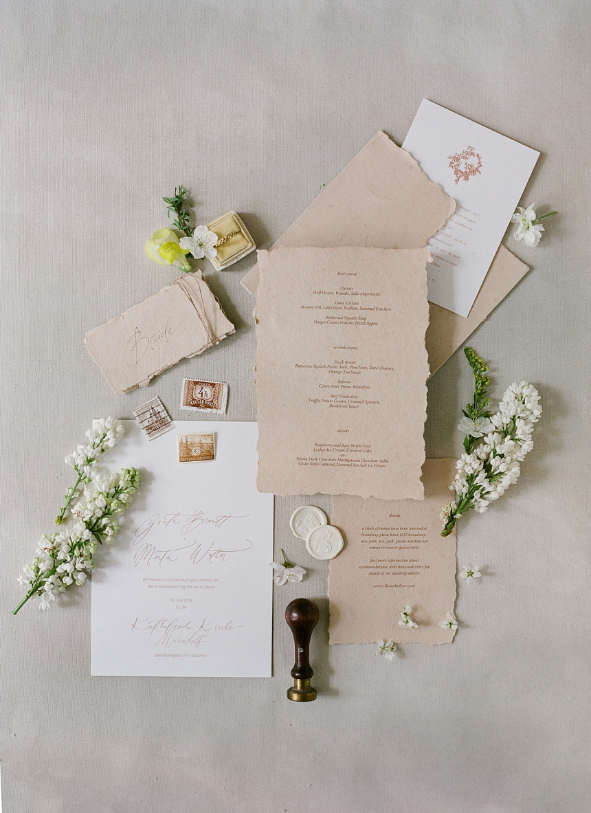 yellow-toned spring wedding inspiration , wedding invitaions by Eliv Rosenkranz