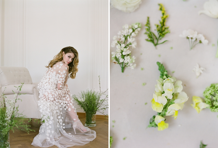 yellow-toned spring wedding inspiration © Melanie Nedelko fine art wedding photographer