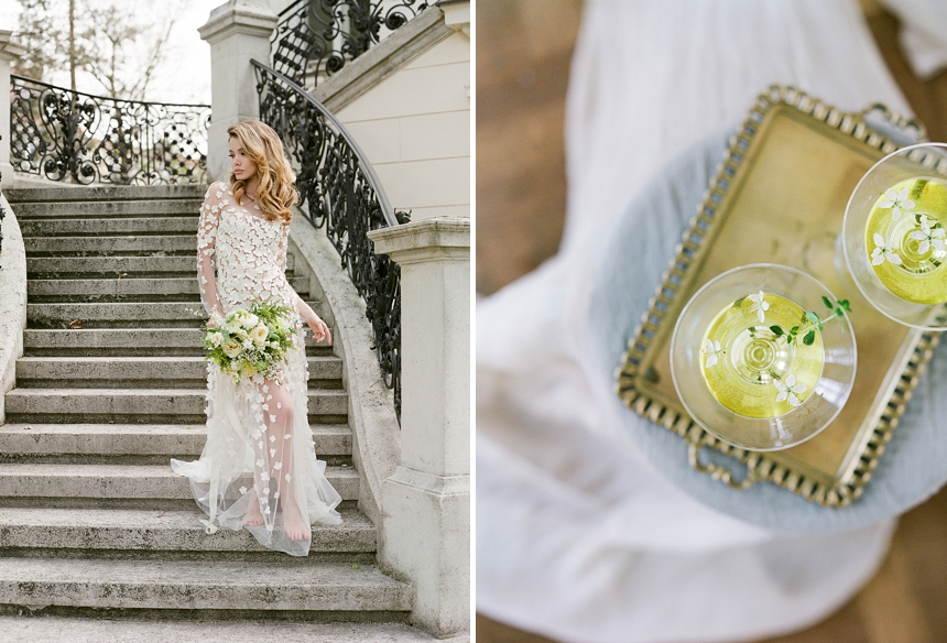 yellow-toned spring wedding inspiration